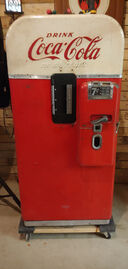 Coke Bottle Dispensing Machine Bottle Door