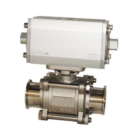 Stainless Steel Pneumatic Ball Valve