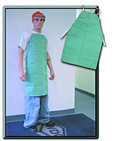 Apron, Green Cotton BIB