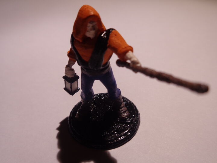 D&D - Old Man Staff Out