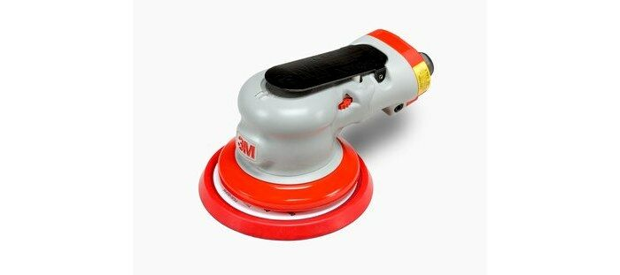 3M 28495 NON-VACUUM PNEUMATIC ELITE RANDOM ORBITAL SANDER - 5 IN DIA - 12,000 RPM -.28 HP