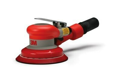 3M 5 IN - SELF GENERATED VACUUM - 3/16 IN ORBIT - PNEUMATIC RANDOM ORBITAL SANDER 20319
