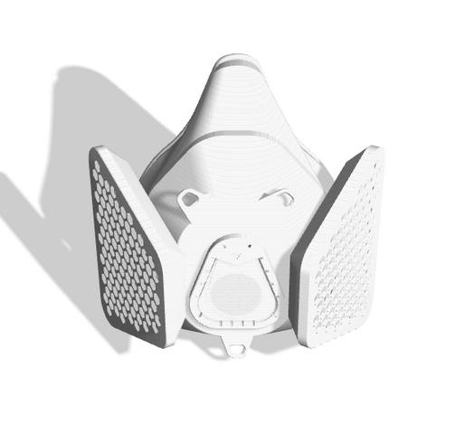 Maker Mask V 4 6 3D Printable Respirator S