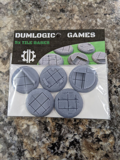 Miniature Tile Bases