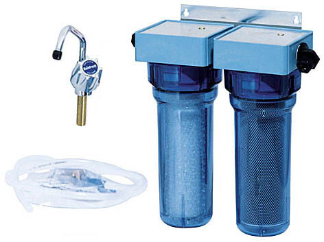 RAINFRESH DRINKING WATER FILTER SYSTEM II, flow rate 0.75 g.p.m.