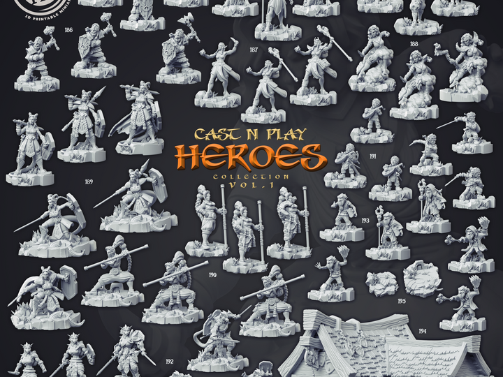 Cast n' Play - Heroes Vol.1 Collection [2020-05]