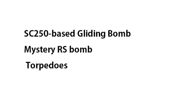 Bombs & Torpedoes