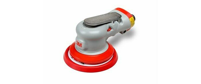 3M 28497 NON-VACUUM PNEUMATIC ELITE RANDOM ORBITAL SANDER - 5 IN DIA - 12,000 RPM -.28 HP
