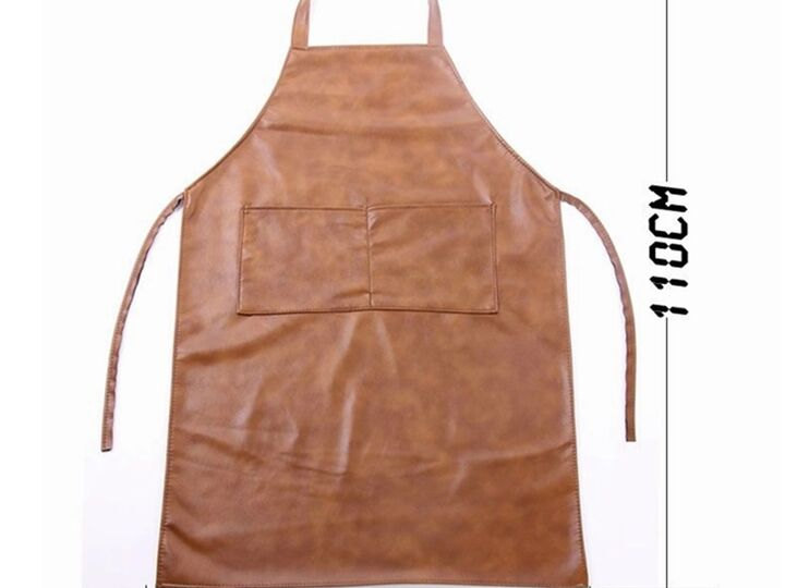 Leather Bib Apron, Butcher Apron, 100% Leather Welding Aprons