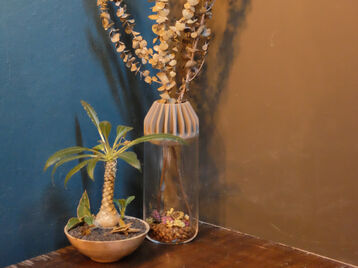 Decor Cap for glass vase