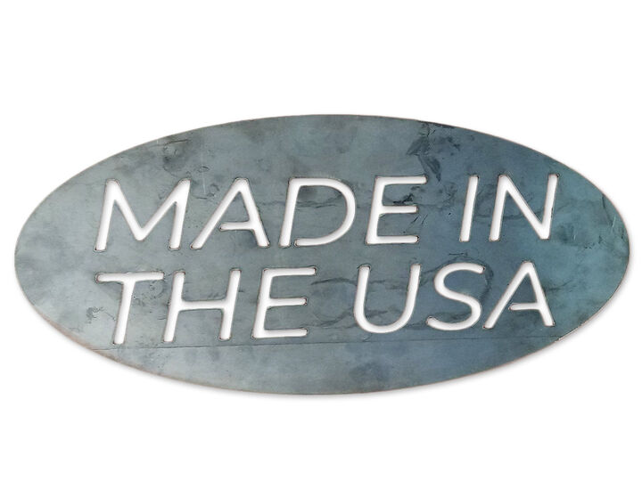 """Metal Shop Sign - Made in the USA - 16"""" x 8"""""""
