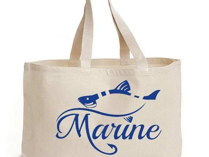 Canvas Tote Bag, Calico Bag, Shopping Bag, Cotton Promotional Bags