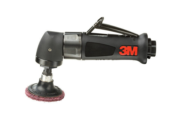 3M 28341 PNEUMATIC DISC SANDER - 2 IN DIAMETER - 20,000 RPM - 12.5 IN LENGTH - 1/3 HP