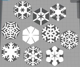 Flocons de Neige / Snowflakes