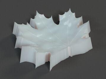 Maple Leaf Plate