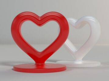 Heart Stand