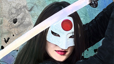 Making a 3D Printed Katana Mask for Suicide Squad Cosplay