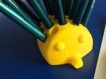Echidna pencil holder