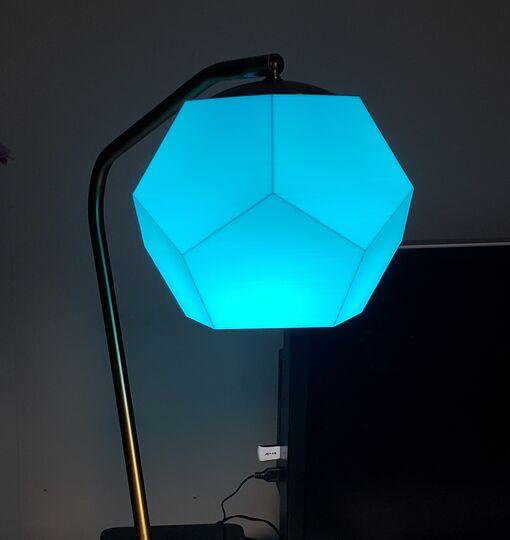 Dodecahedron Lamp Shade