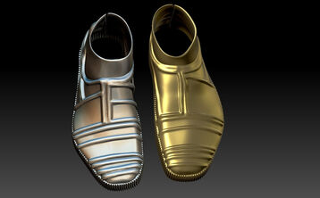 C 3PO Shoe covers