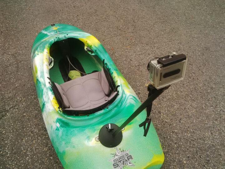 Go Pro post for kayaks