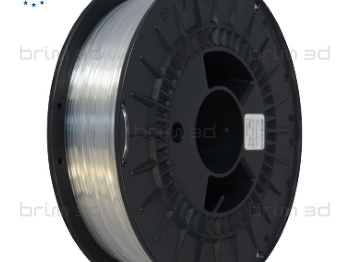 PETG BRIM3D TRANSPARENTE - 1,75MM 750G