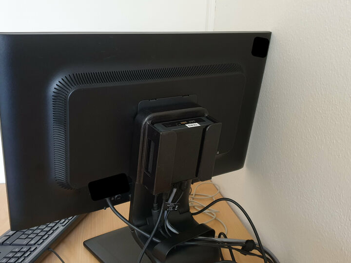 Intel© NUC™ Mount for HP© ZR2330w monitor
