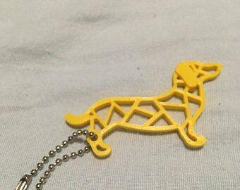 3D printed sausage dog
