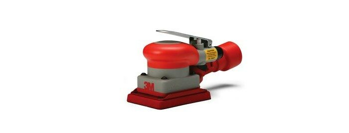 3M 20430 CENTRAL VACUUM PNEUMATIC ORBITAL SANDER - 3 IN WIDTH - 10,000 RPM - 4 IN LENGTH -.24 HP