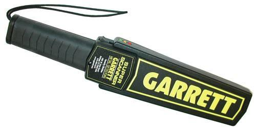 Garrett Metal/Weapon Detector, Hand-Held Super Scanner by