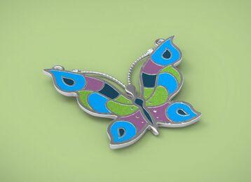 Pendant butterfly