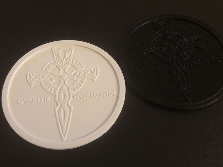 Customizable Coaster