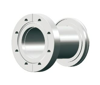 ISO to CF Flange
