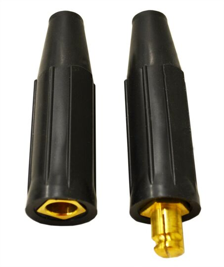 300 AMP Cable Connector With Insulating Sleeves