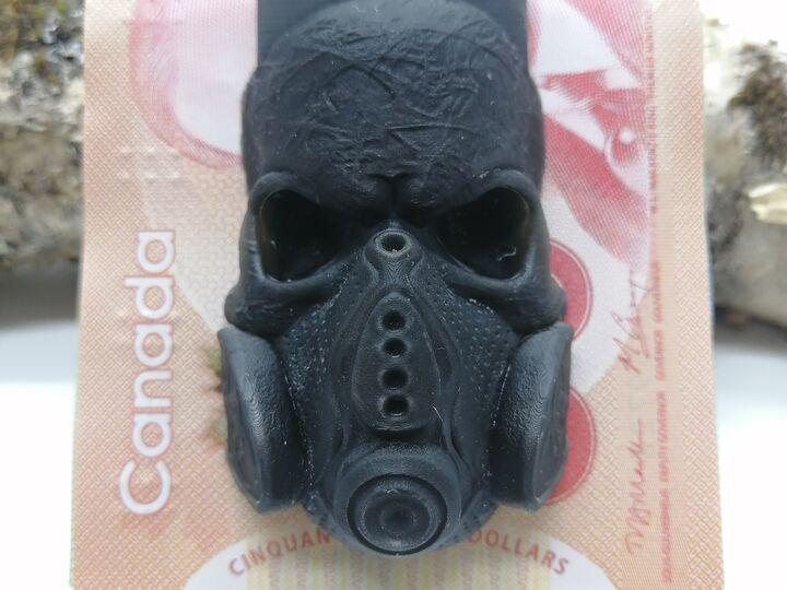 Money clip Gaz Mask