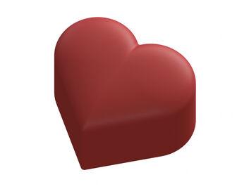 Domed Heart Shaped Box