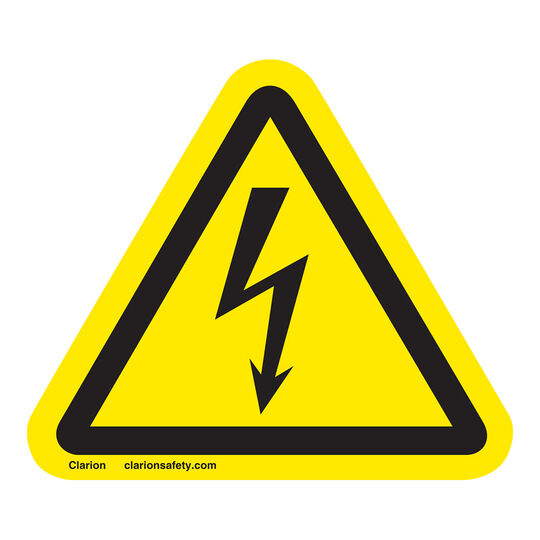Electrical Shock/Electrocution Sign