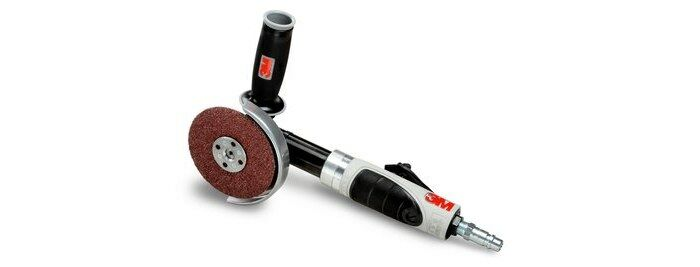 3M 28414 PNEUMATIC ANGLE GRINDER - 4 1/2 IN DIAMETER 1 HP