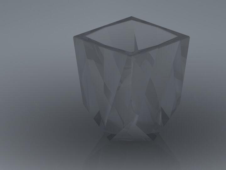 Square Shot Glass