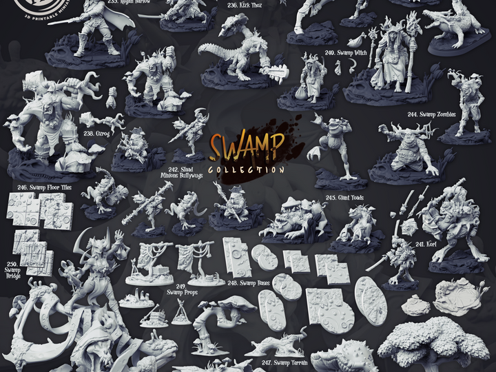 Cast n' Play - Swamp Collection [2020-09]
