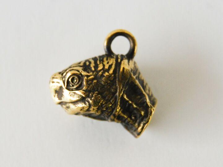 Turtle head pendant
