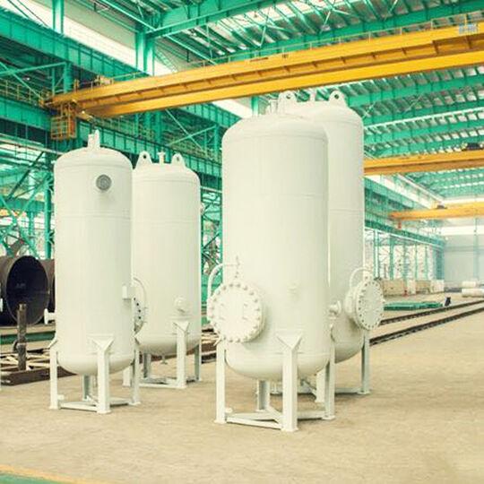 Custom Metal Steel Fabrication ASME U Stamp Vertical Pressure Vessel