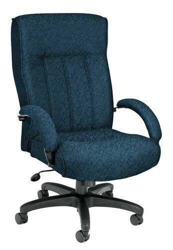 Designer Executive/Conference Big & Tall High-Back Swivel-Tilt Chair