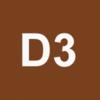 Dam 3D Logo