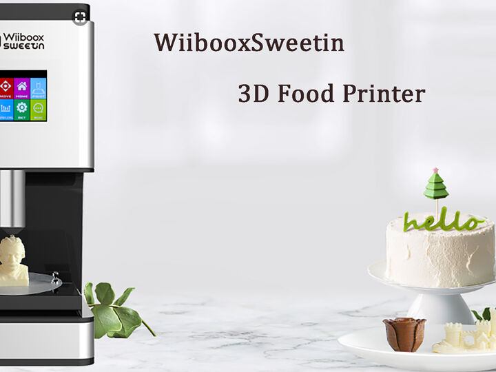WiibooxSweetin Intelligent Home DIY 3D Desktop Edible Food Chocolate Printer