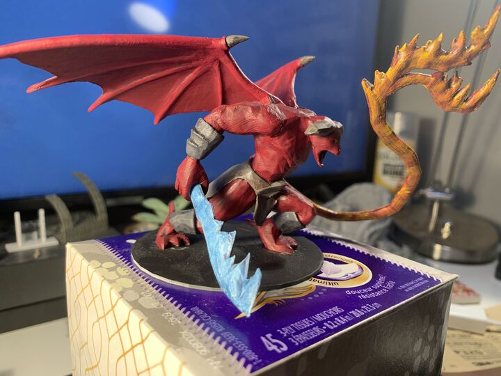 Miniature Painting (3D Printed or Otherwise)