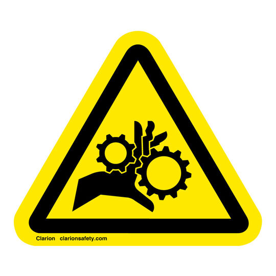 Hand Entanglement/Rotating Gears Sign