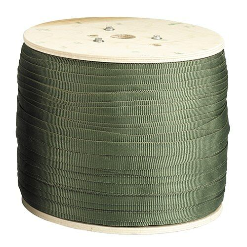 Tree Guy Tree-Tie Webbing in Olive Green (1,500 ft. Spool)