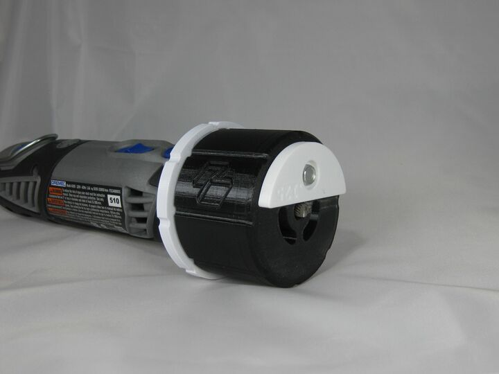 Dremel Router Attachment with Depth Click Adjustment