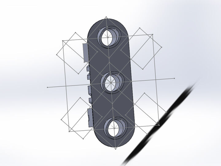 HO Scale - N&W Track Signal